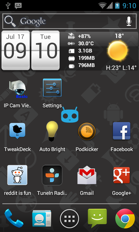 ICS Screenshot